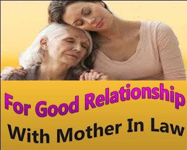 Get love of mother in law