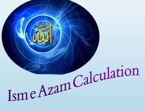 Ism e Azam Calculation