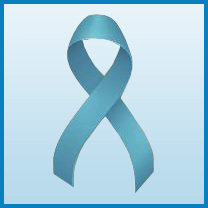 Ovarian Cancer ribbon color