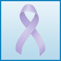 Testicular cancer ribbon color