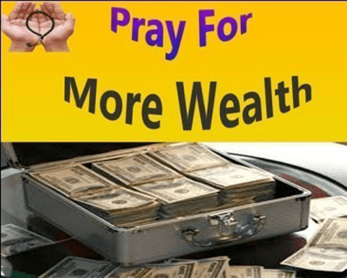 wazifa for more wealth